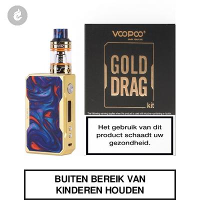 Voopoo Gold Drag Startset 157watt 2ml Azure