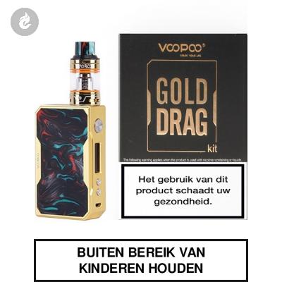 Voopoo Gold Drag Startset 157watt 2ml Purple Jade