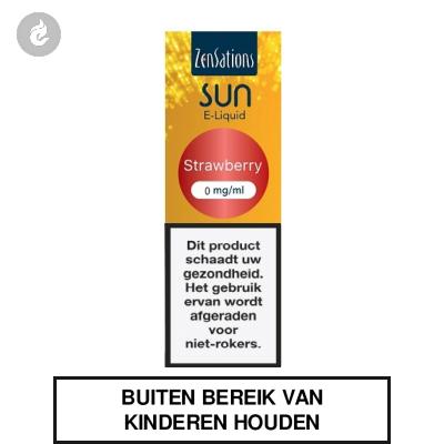 Zensations Sun - Strawberry 0mg Nicotine