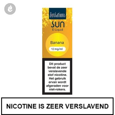 Zensations Sun - Banana 12mg Nicotine
