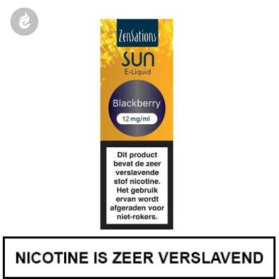 Zensations Sun - Blackberry 12mg Nicotine