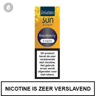 Zensations Sun - Blackberry 6mg Nicotine