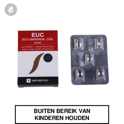 Vaporesso Estoc EUC Ceramic 0.3 ohm Coils (doosje 5 stuks)
