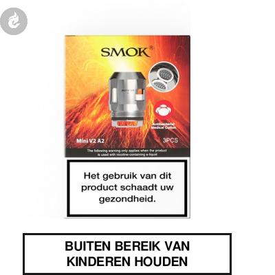 Smok TFV Mini V2 Dual Coils A2 0.2ohm (doosje 3 stuks)