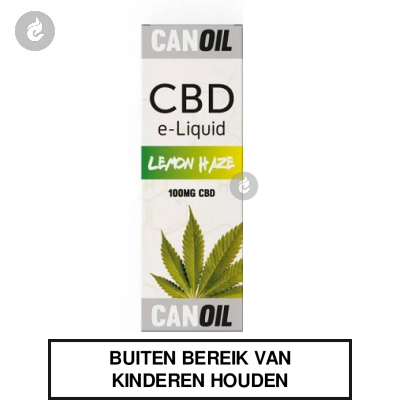 CANOIL CBD E-LIQUID LEMON HAZE 100MG CBD nicotinevrij