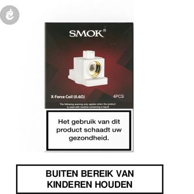 Smok X-Force Coils 0.6ohm (doosje 4 stuks)