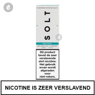 Solt Nic Salts Menthol 20mg Nicotine 10ml