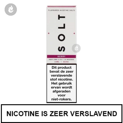 Solt Nic Salts Berry 10mg Nicotine 10ml