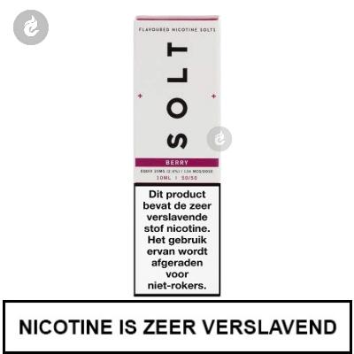 Solt Nic Salts Berry 10mg Nicotine 10ml