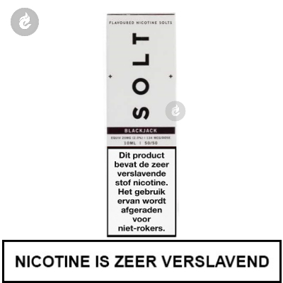 Solt Nic Salts Blackjack 20mg Nicotine 10ml