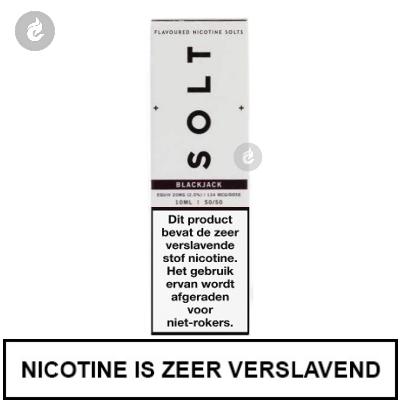Solt Nic Salts Blackjack 20mg Nicotine 10ml