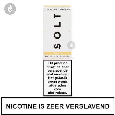 Solt Nic Salts Vanille 10mg Nicotine 10ml
