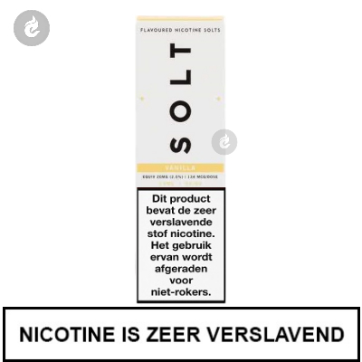 Solt Nic Salts Vanille 20mg Nicotine 10ml