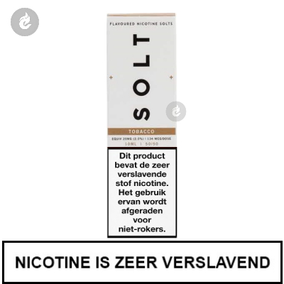 Solt Nic Salts Tobacco 10mg Nicotine 10ml