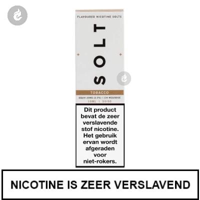 Solt Nic Salts Tobacco 10mg Nicotine 10ml