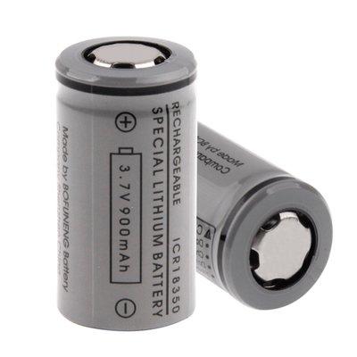 e-Pipe 18350 Batterij 3,7volt 800mAh