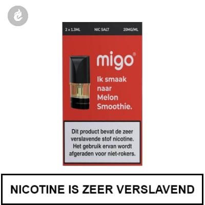 MIGO PODS Melon Smoothie 20mg Nicotine 1.3ml