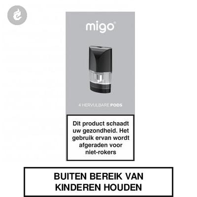 MIGO Hervulbare PODS 1.3ml (4 stuks)