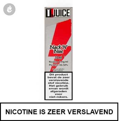 T-Juice - Black N' Blue 12mg Nicotine