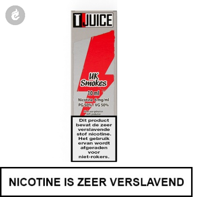T-Juice - UK Smokes 12mg Nicotine