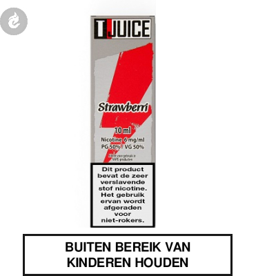 T-Juice - Strawberri 0mg Nicotine