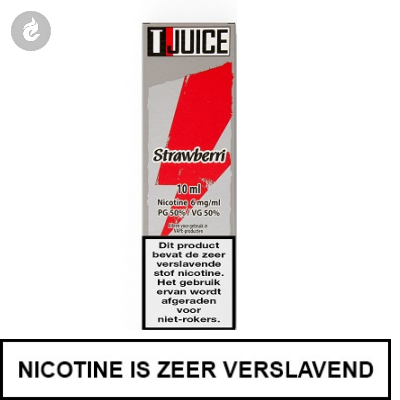 T-Juice - Strawberri 6mg Nicotine