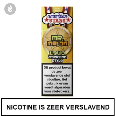Flavourtec - American Stars - Mr. Melon 3mg Nicotine