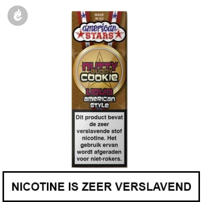 Flavourtec - American Stars - Nutty Buddy Cookie 3mg Nicotine