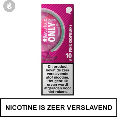 Flavourtec - Only - Pink Raspberry 6mg Nicotine
