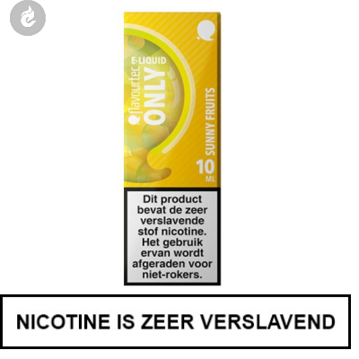 Flavourtec - Only - Sunny Fruits 3mg Nicotine