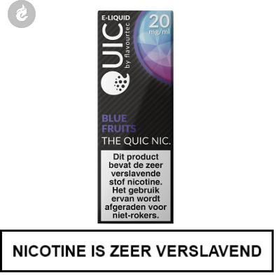Quic Nic Nicotine Salts Blue Fruits 20mg Nicotine 10ml