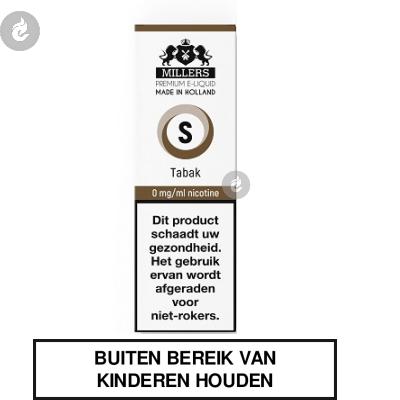 MILLERS JUICE SILVERLINE TABAK nicotinevrij