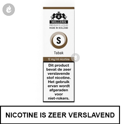MILLERS JUICE SILVERLINE TABAK 12mg nicotine