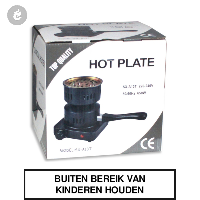 Hot Plate Waterpijp Kooltjes Verhitter