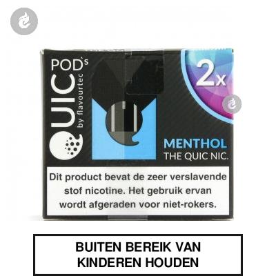 Quic PodsMenthol 20mg (2 stuks)