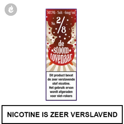 Stoomtovenaar Nic Salts Cola Amerikaanse Stijl 6mg Nicotine 10ml