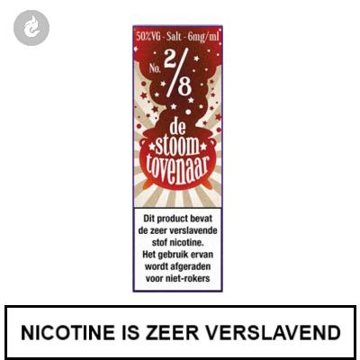 Stoomtovenaar Nic Salts Cola Amerikaanse Stijl 12mg Nicotine 10ml
