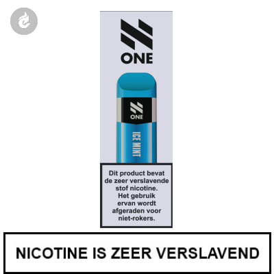 N-One Disposable Nic Salt POD e-Sigaret Ice Mint 20mg Nicotine