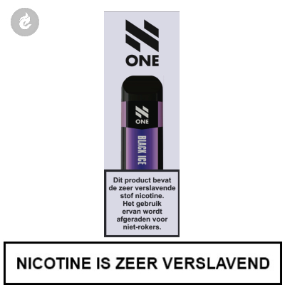 N-One Disposable Nic Salt POD e-Sigaret Black Ice 20mg Nicotine