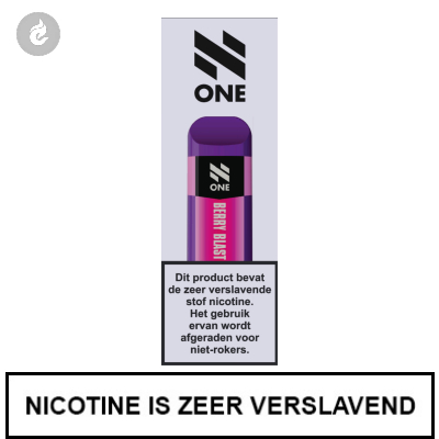 N-One Disposable Nic Salt POD e-Sigaret Berry Blast 20mg Nicotine