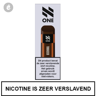 N-One Disposable Nic Salt POD e-Sigaret Tobacco 20mg Nicotine