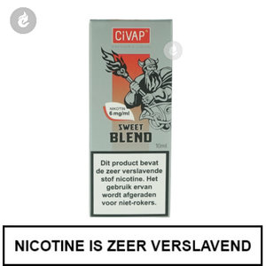 civap e-liquid sweet blend american blend gold 12mg nicotine