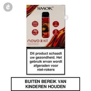 smok novo 2 pod e-sigaret kit 2ml 800mah rood geel resin.jpg