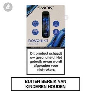 smok novo 2 pod e-sigaret kit 2ml 800mah blauw zwart resin.jpg