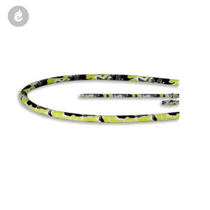 siliconen waterpijp shisha hookah slang set 150cm camouflage geel.jpg