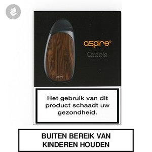 aspire cobble aio pods e-sigaret starterkit 700mah wood grain