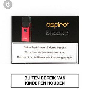 aspire breeze 2 e-sigaret pocket e-smoker rood