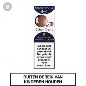 bookwill e-sigaret e-liquid 70pg 30vg cuban cigars 0mg nicotinevrij