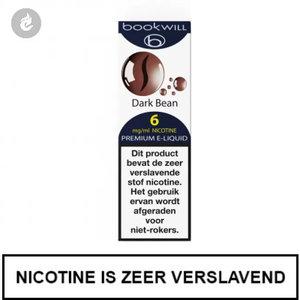 bookwill e-sigaret e-liquid 70pg 30vg dark bean 6mg nicotine