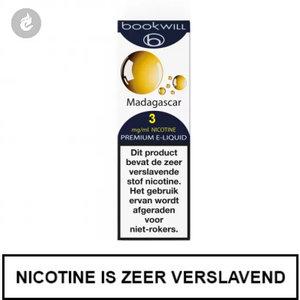 bookwill e-sigaret e-liquid 70pg 30vg madagascar 3mg nicotine